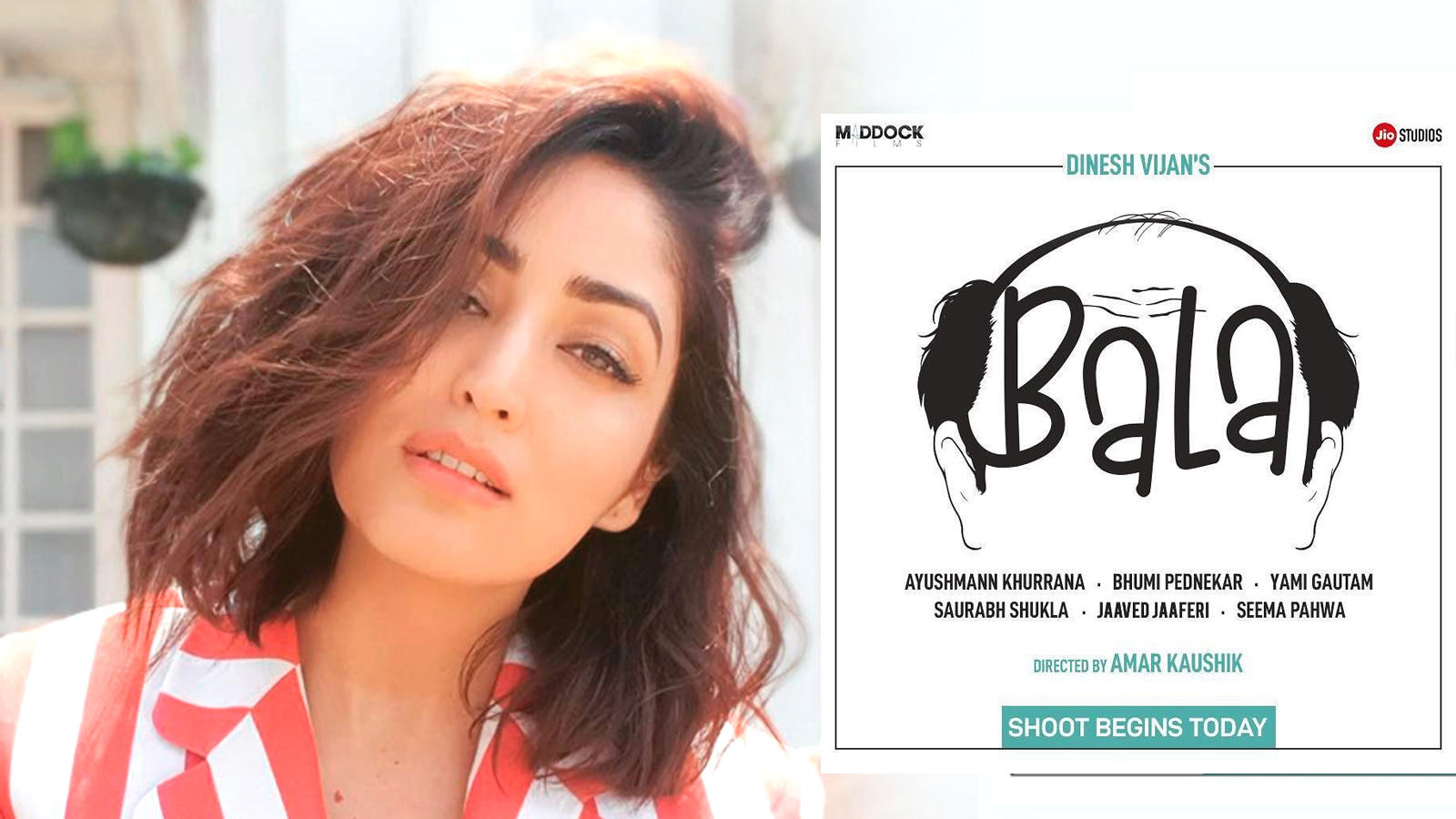 Yami Gautam joins cast of Ayushmann Khurrana and Bhumi Pednekar starrer 'Bala'