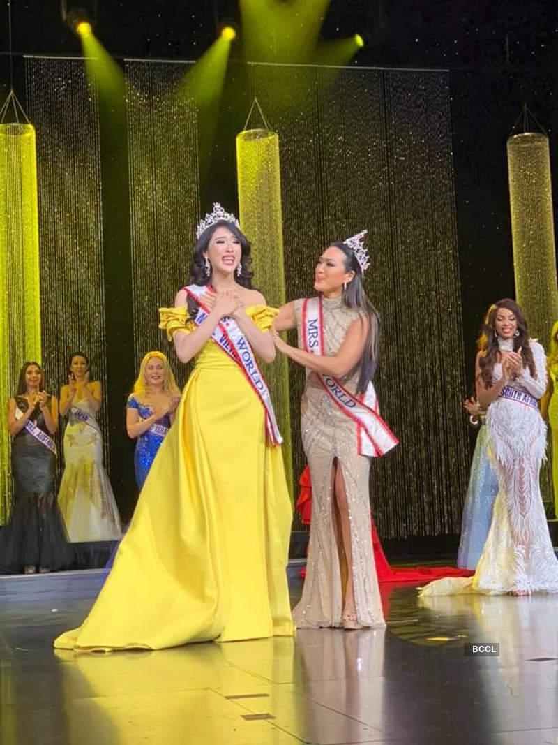 Jennifer Le crowned Mrs. World 2019