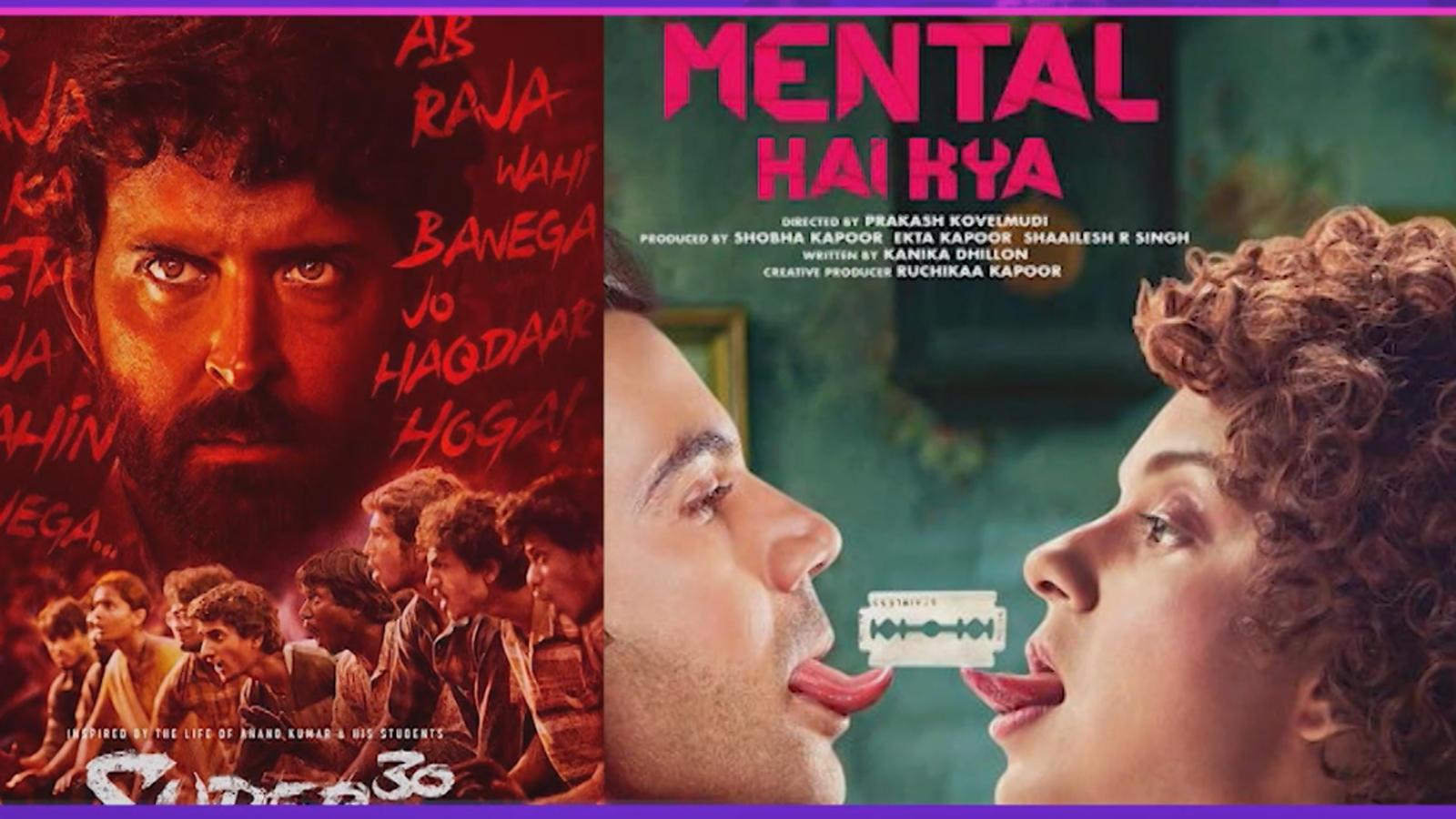 Kangana Ranaut's 'Mental Hain Kya' to clash with Hrithik Roshan's 'Super 30' on July 26