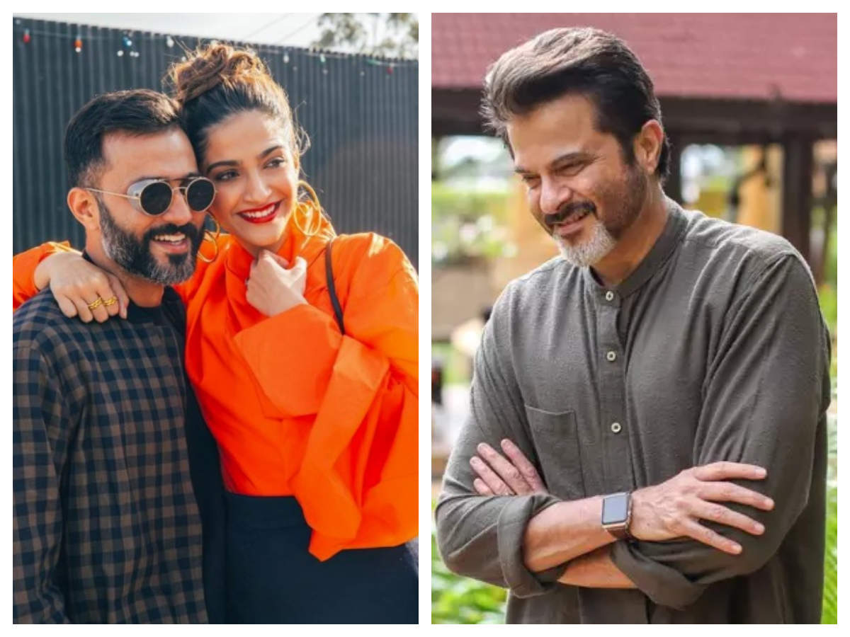 This is what Anil Kapoor has to say about Sonam Kapoor and Anand ...