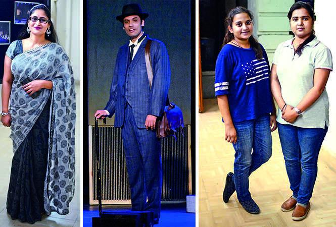 (L) Ritika Awasthi (C) Shubham Pareek (R) Vaishali and Vidyottama (BCCL/ Pankaj Singh)