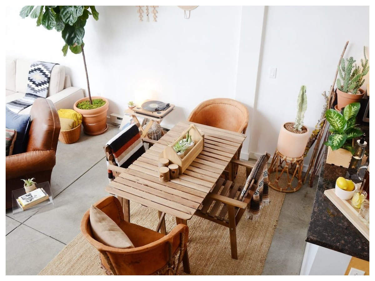 Wooden centre table