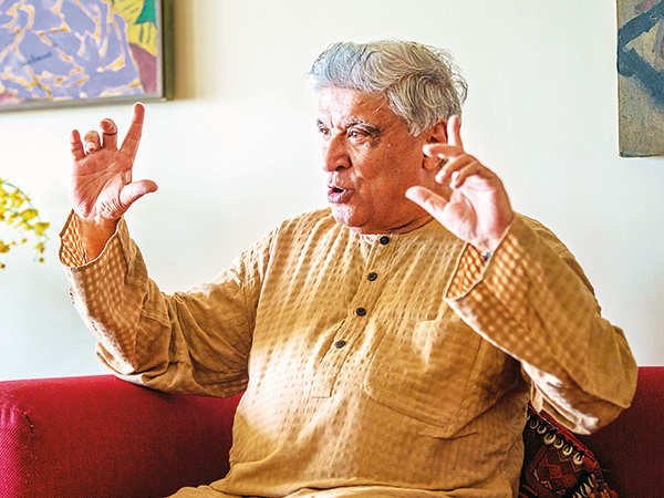 Javed Akhtar (Photo Tejas Kudtarkar)