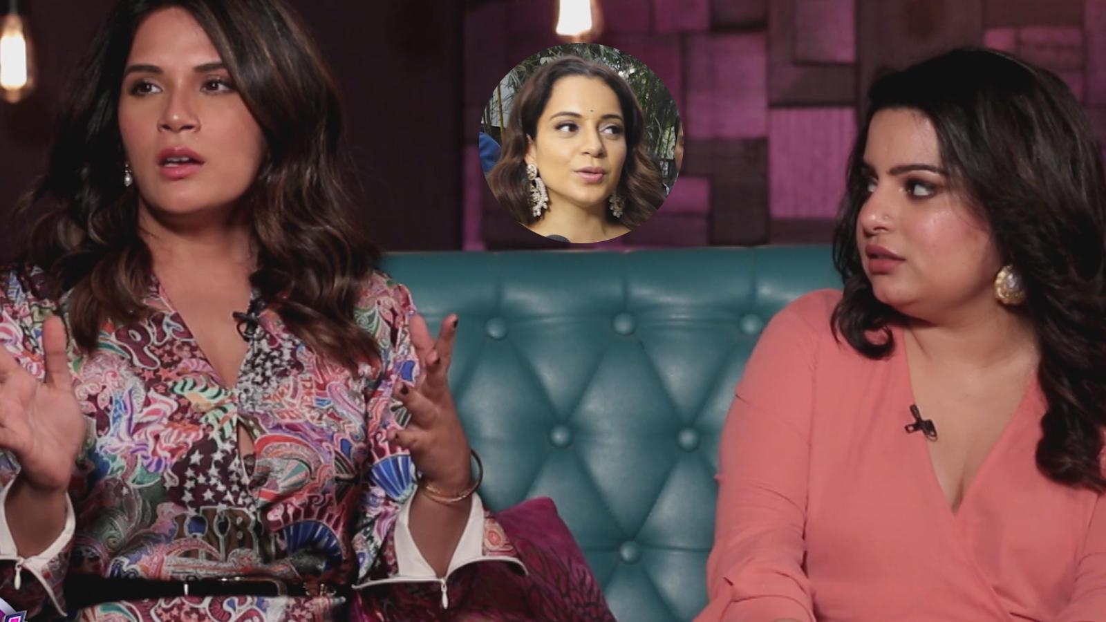 Richa Chadha and Mallika Dua share their opinion on Kangana Ranaut's outspoken nature