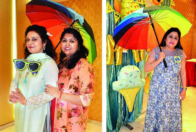 (L) Sangeeta Agarwal and Meenakshi Singh (R) Reetu Narula (BCCL/ IB Singh)