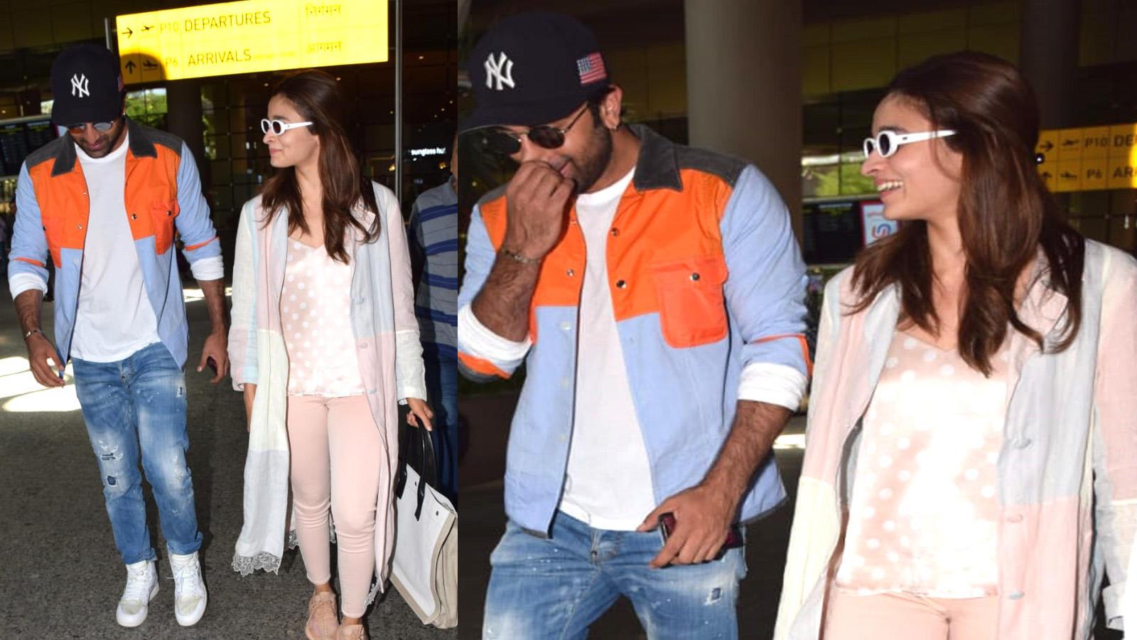 Alia Bhatt and Ranbir Kapoor are back from their European holidays