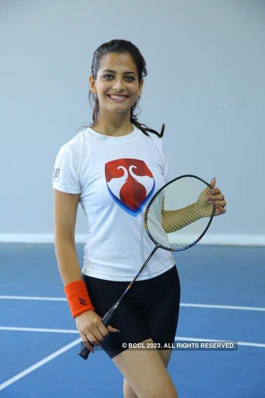 Miss India 2019 finalists at Bennett University: Badminton Challenge