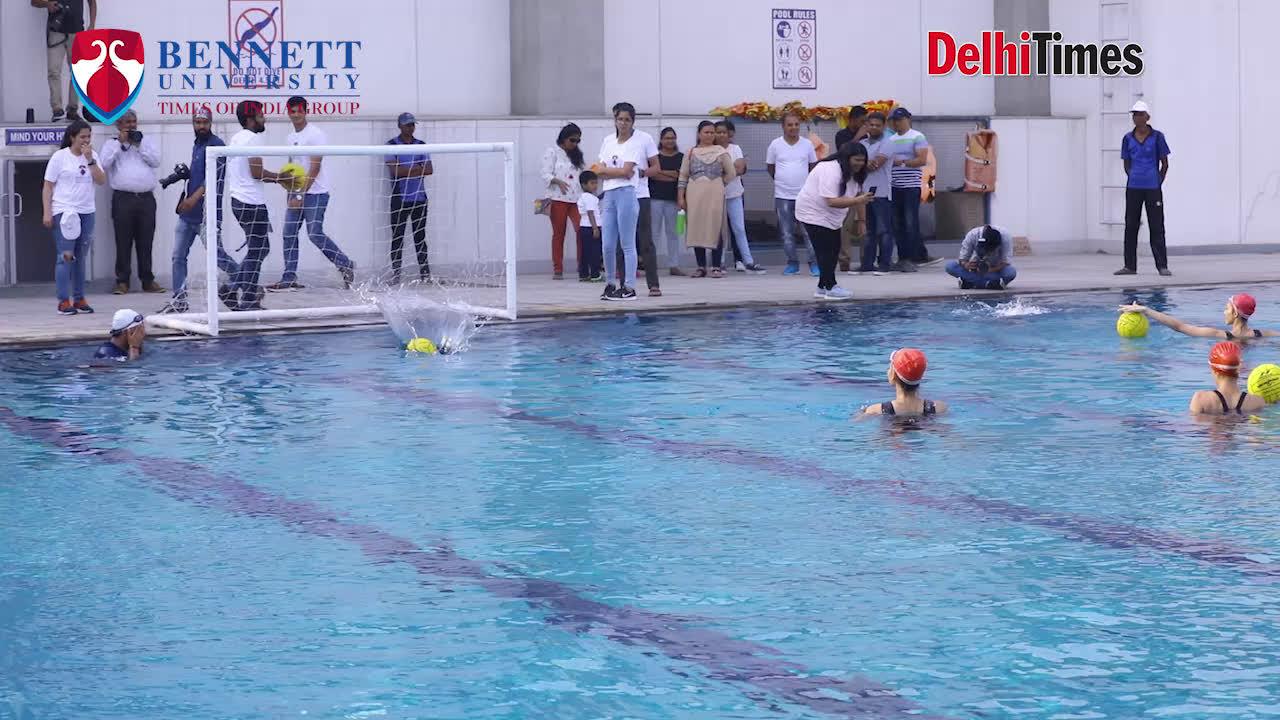 fbb Colors Femina Miss India finalists: Sports Day at Bennett University