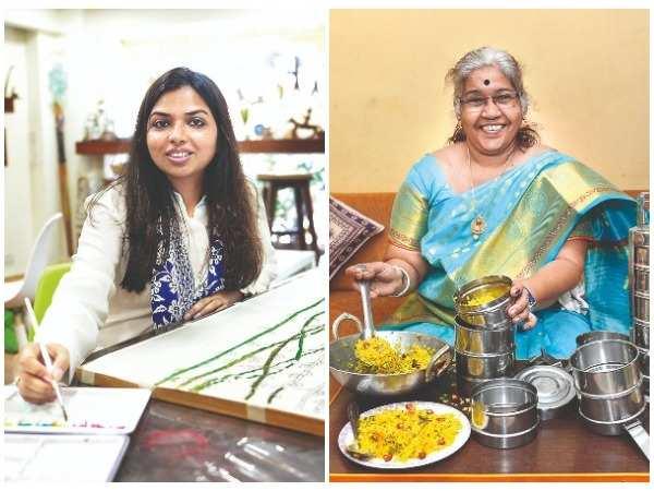 Ritika Jhunjhunwala and Archana Ashok Angare