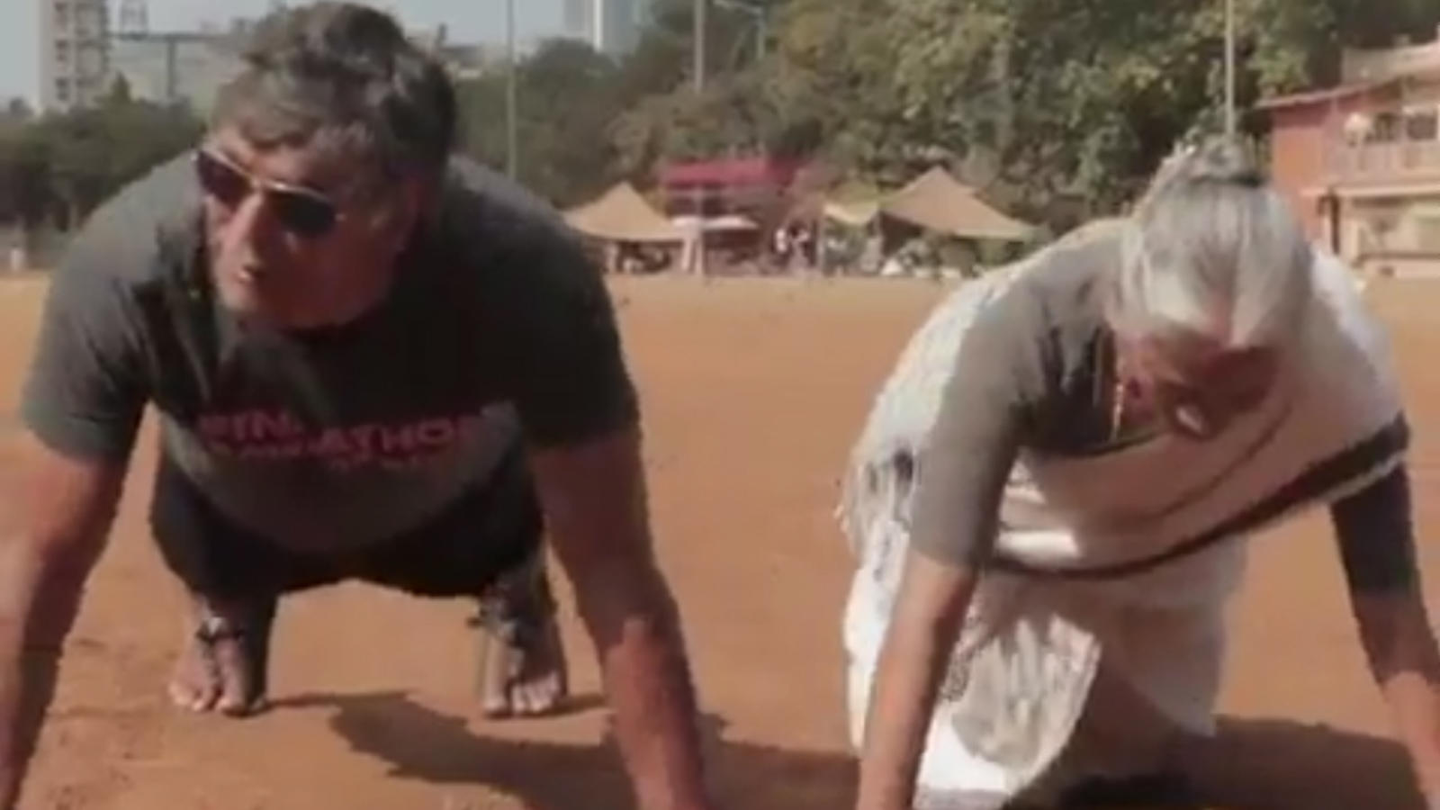 Milind Soman wishes Mother's Day to his fans with a special video