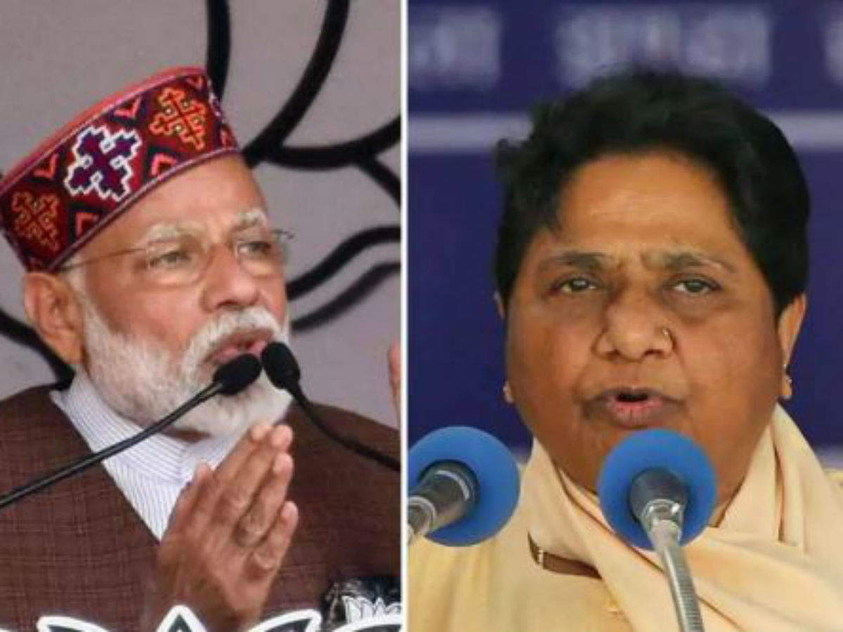 Mayawati, PM Modi spar over dalit woman's rape in Alwar - Times of India