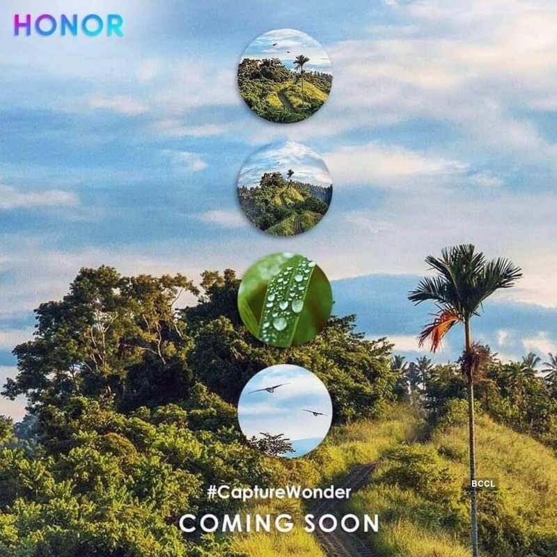 Honor 20 series teased with quad-camera setup