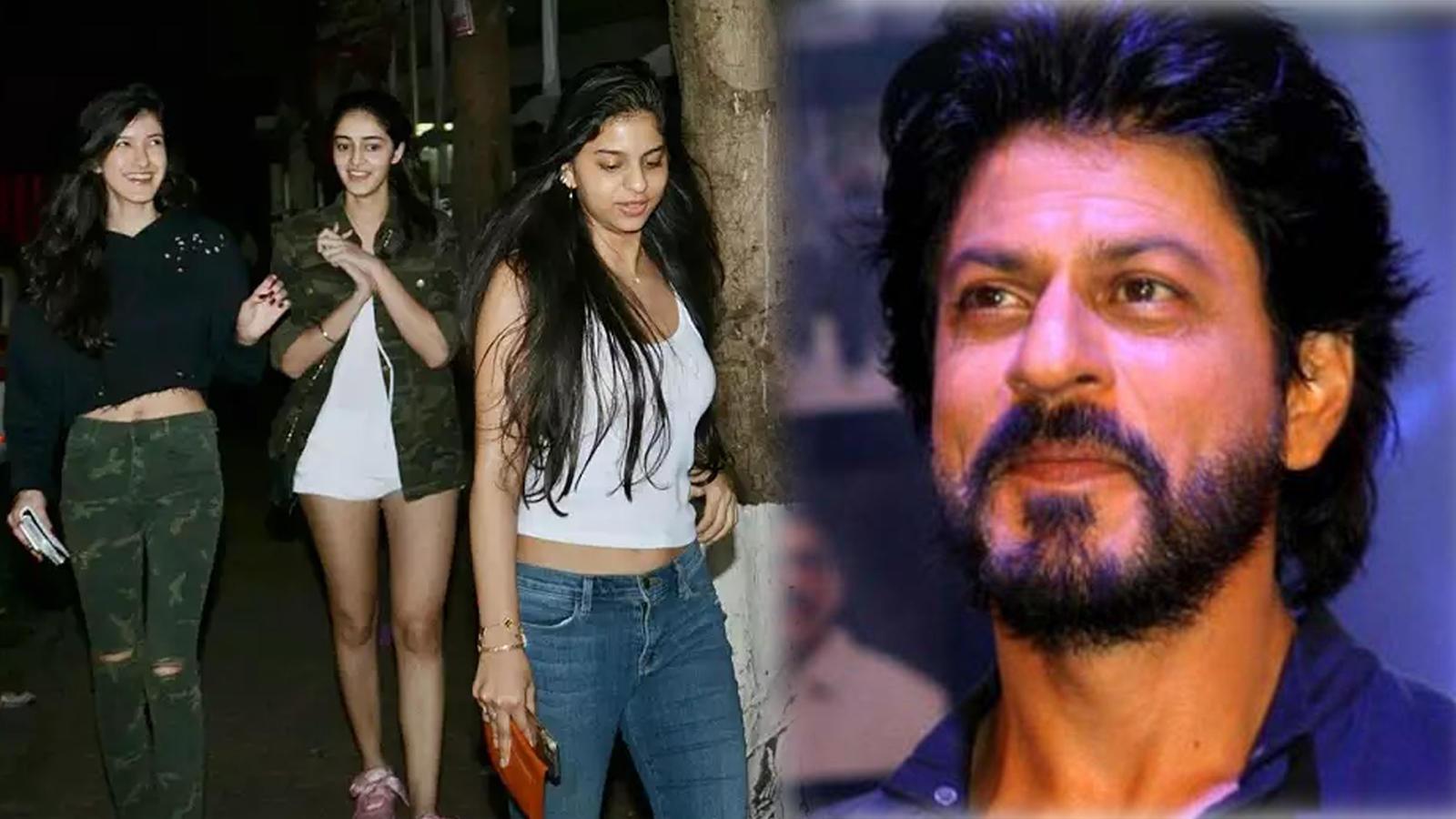 How Shah Rukh Khan encouraged Ananya Panday, Suhana Khan and Shanaya Kapoor to be 'the best of actors'