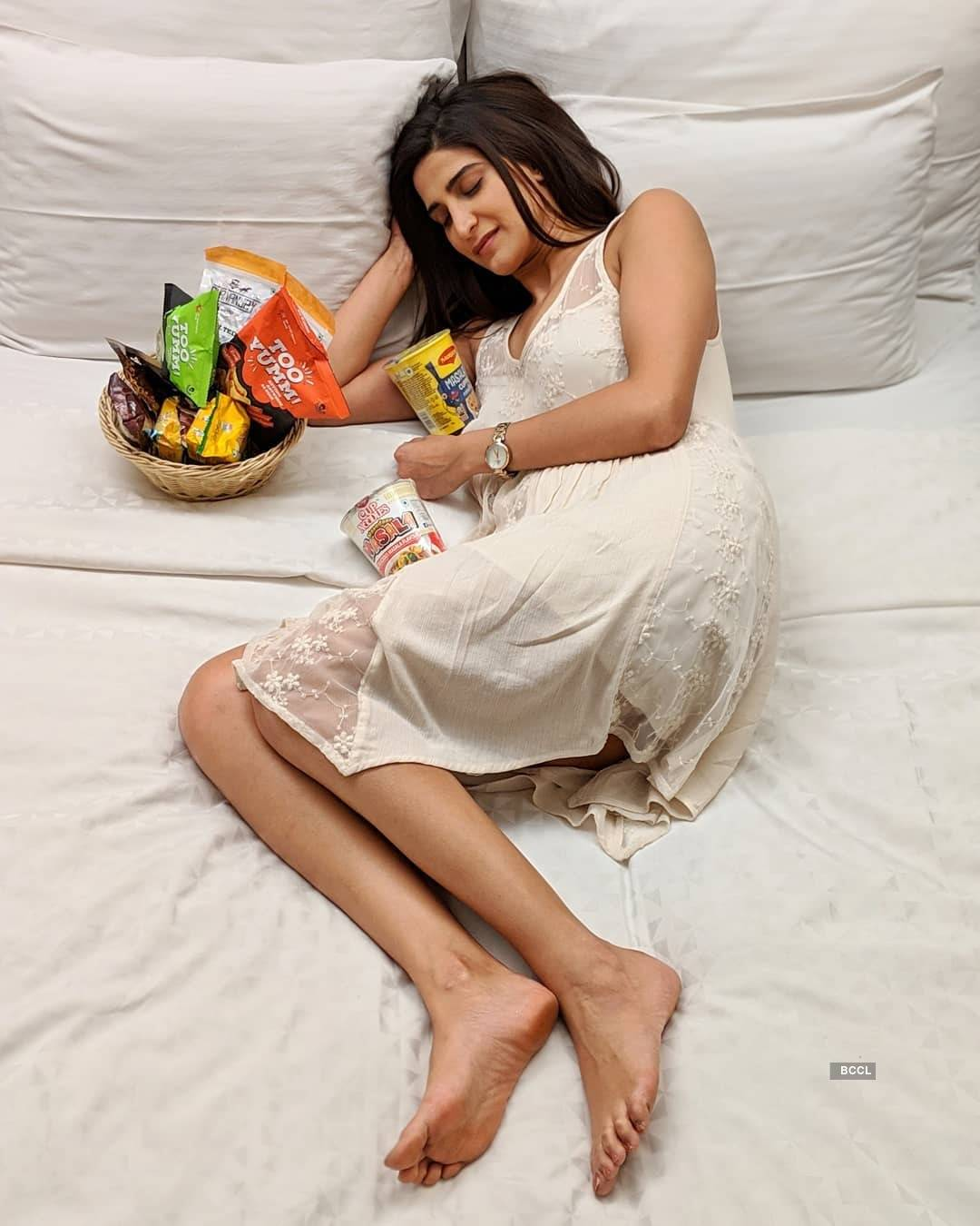 Beautiful pictures of Aahana Kumra, who was trolled for wearing a bikini