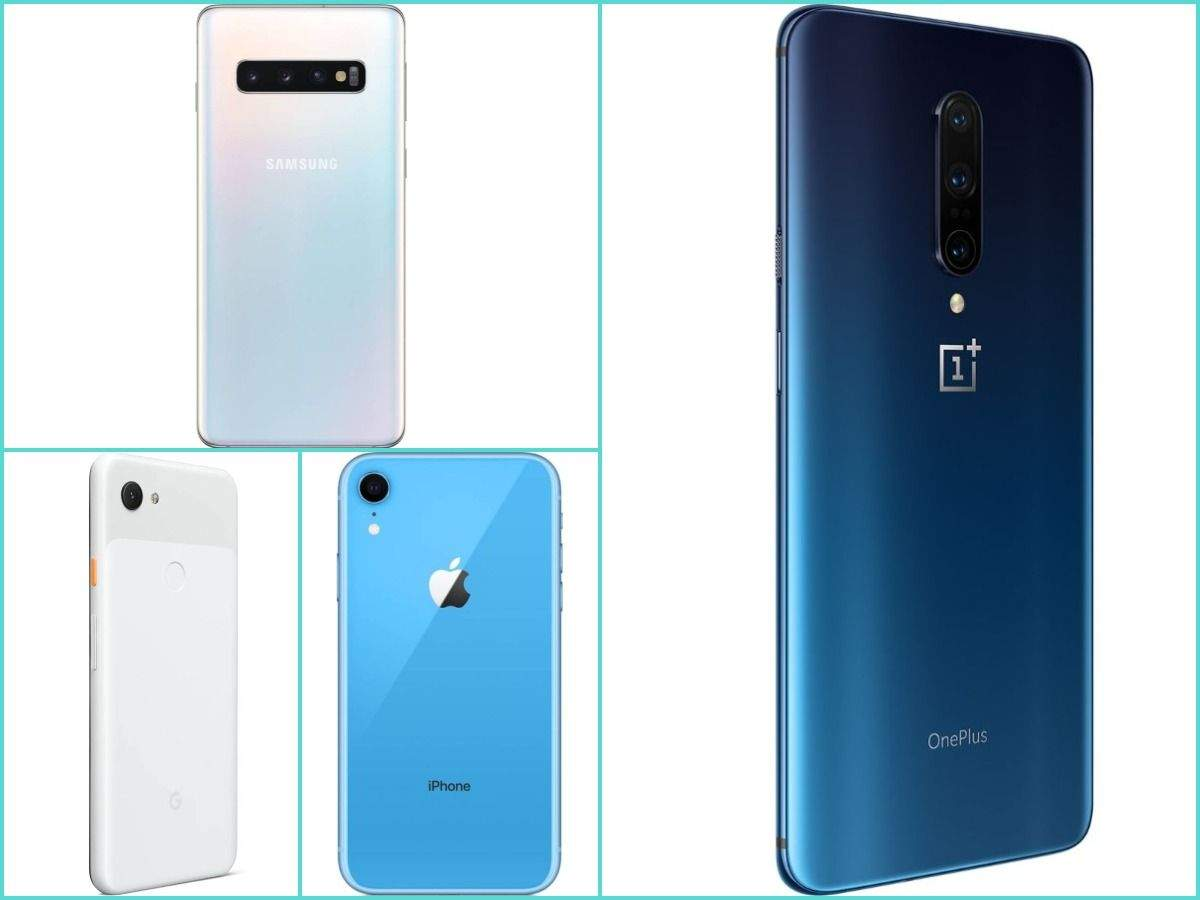 OnePlus 7 Pro vs iPhone XR vs Google Pixel 3a XL vs Samsung Galaxy S10: The battle of flagship phones