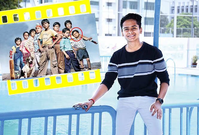 Naman Jain (inset encircled), in Chillar Party for which he won the National Award for Best Child Actor (BCCL/ Vishnu Jaiswal)