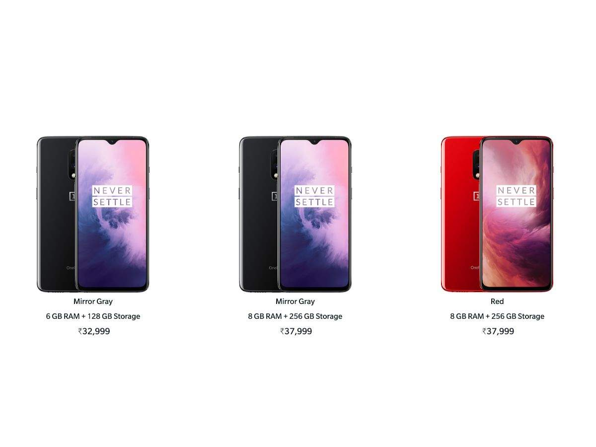 Price: At Rs 32,999, OnePlus 7 has the cheapest price tag