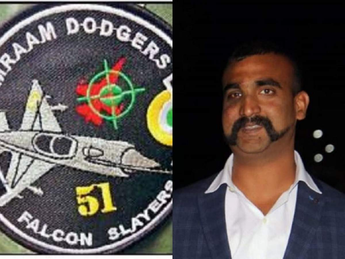 Falcon Slayer: Abhinandan Varthaman's mates get new patch to