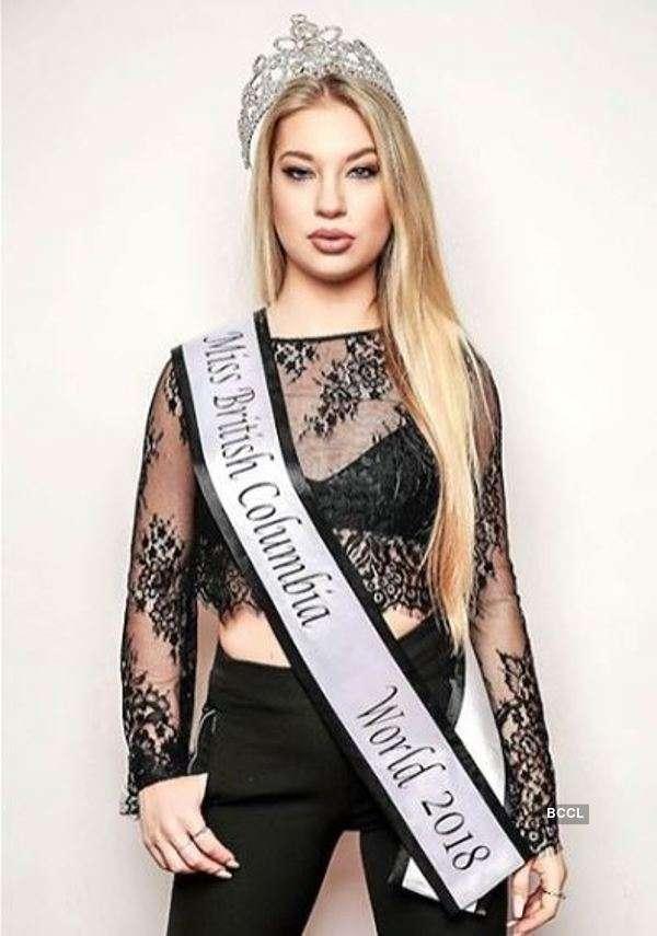 Natasha Smith to compete at Miss Universe Canada 2019
