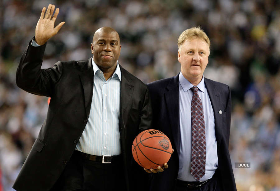 Magic Johnson, Larry Bird honoured with NBA Lifetime Achievement