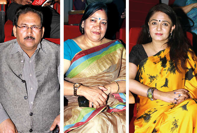 (L) Ramesh Chand Gupta (C) Rashmi Asthana (R) Seema (BCCL/ Aditya Yadav)