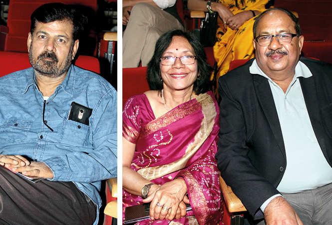 (L) Shubhank Goswami (R) Vidya and Prabhat (BCCL/ Aditya Yadav)