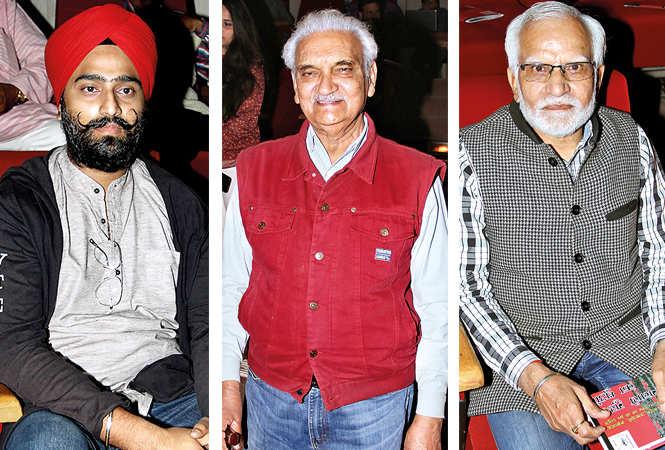 (L) Gagandeep Singh (C) Dr Anil Rastogi (R) Devendra Modi (BCCL/ Aditya Yadav)