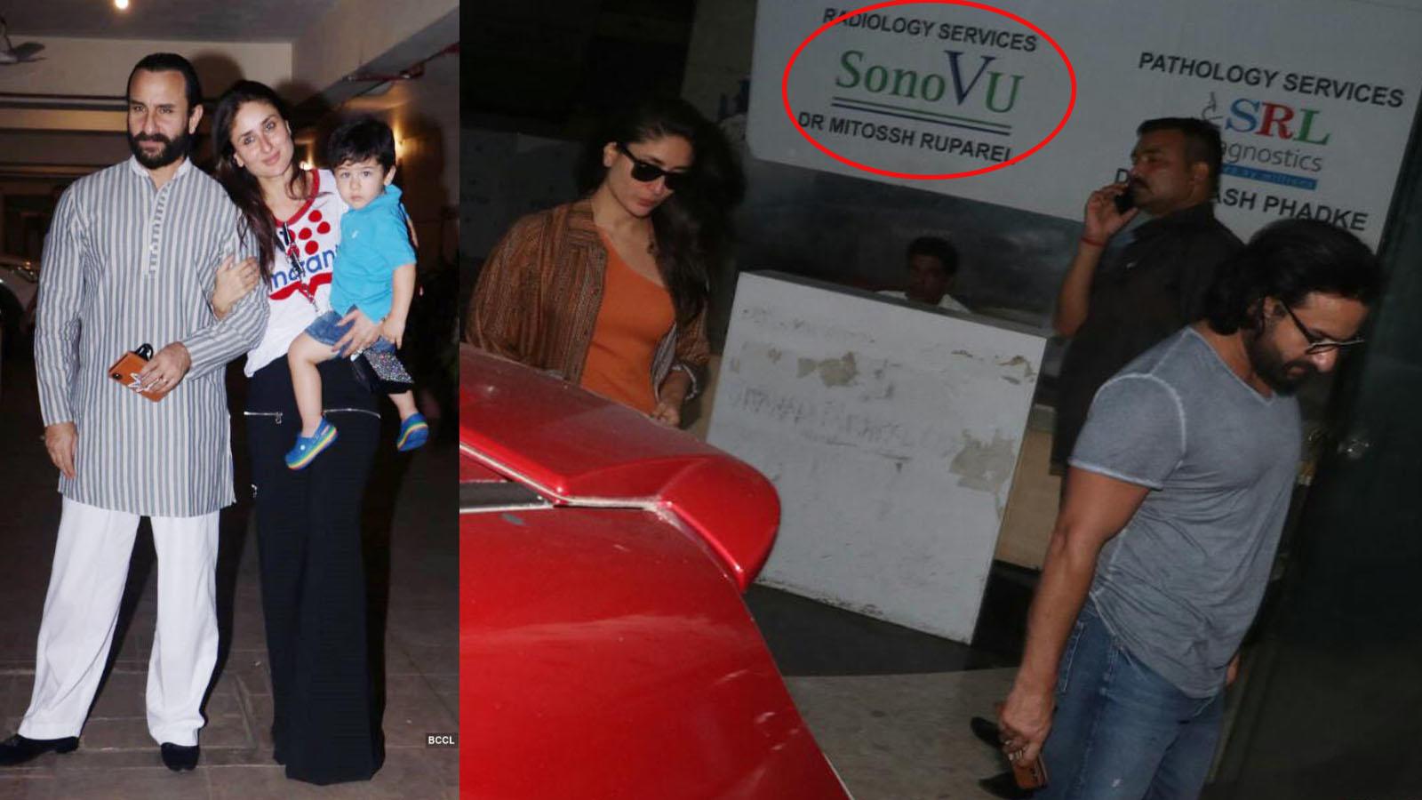 Fans suspect pregnancy as Kareena Kapoor Khan and Saif Ali Khan spotted outside clinic