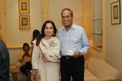 Madhu Neotia and Dr Pranab Dasgupta