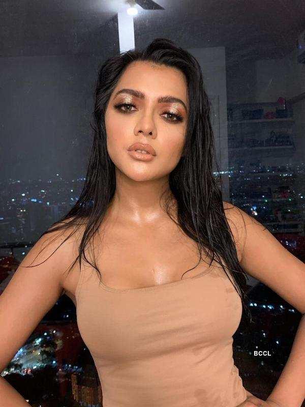 Ruhi Singh recreates Kim Kardashian's Met Gala 2019 Look