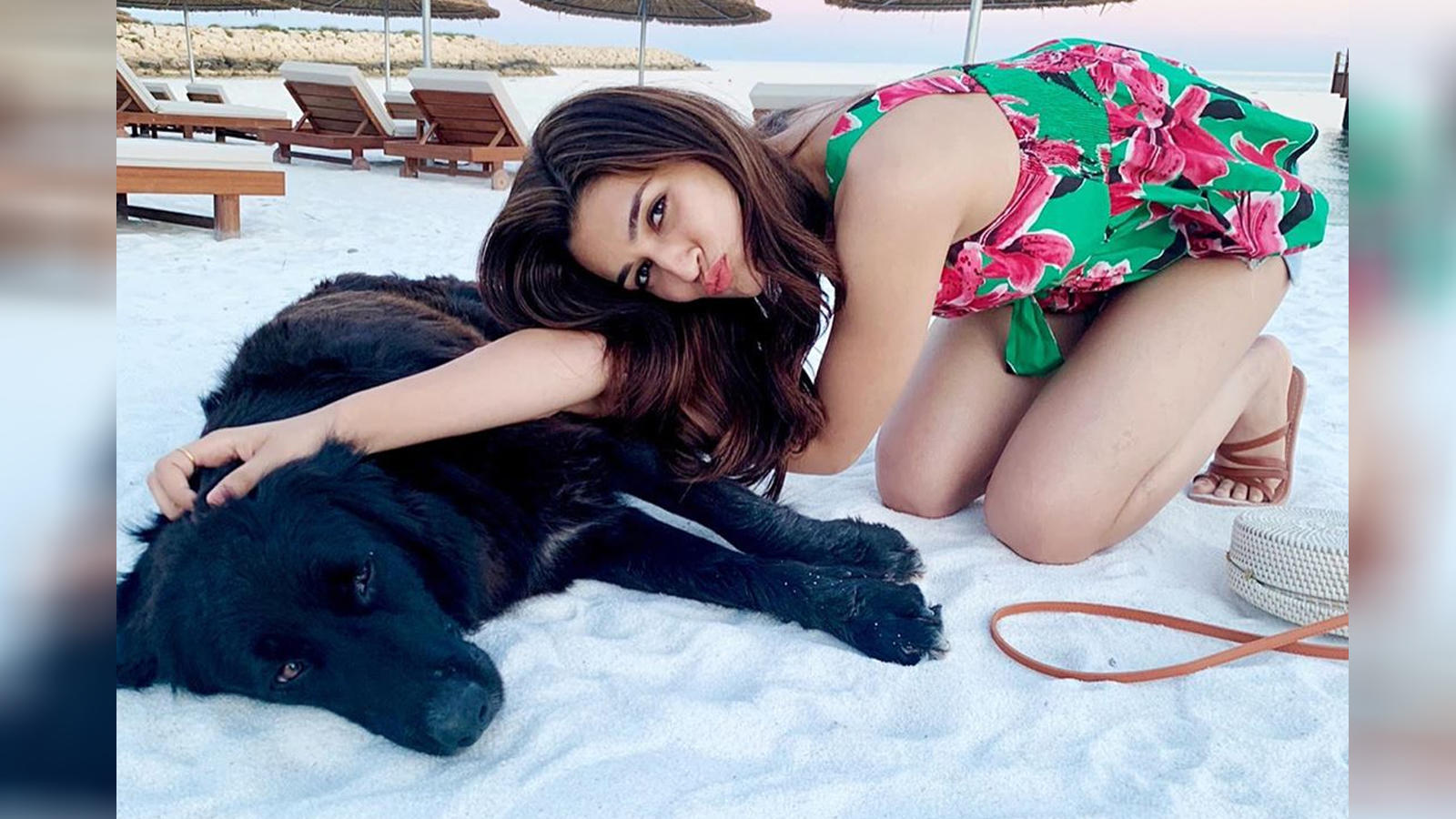 Kriti Sanon holidays in Turkey with a new friend!