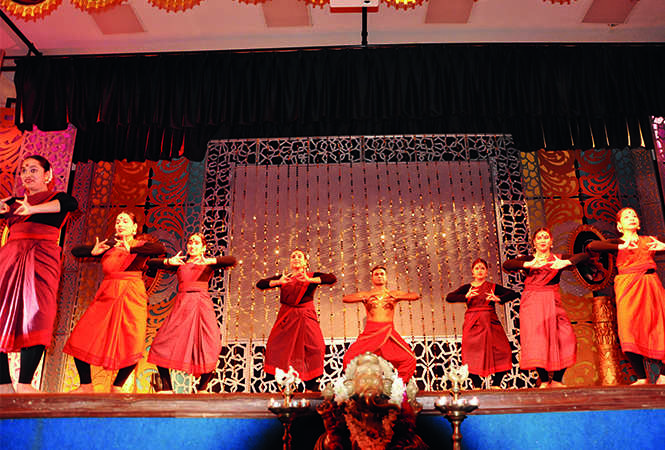 55 Kathak dancers showcased their dancing skills during the dance festival (BCCL/ AS Rathor)