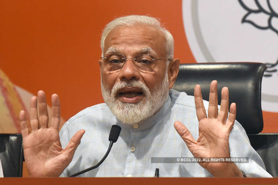 Modi holds first press meet as PM