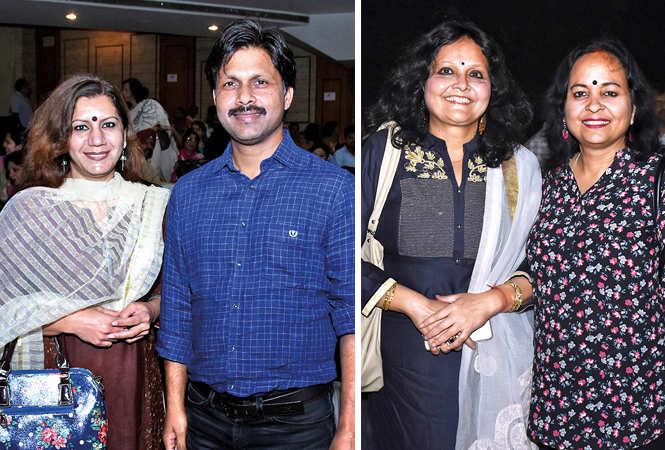 (L-R) Malvika and Dr Hariom , Mini Bajpayee (L) and Neerja Shukla   (BCCL/ Vishnu Jaiswal)