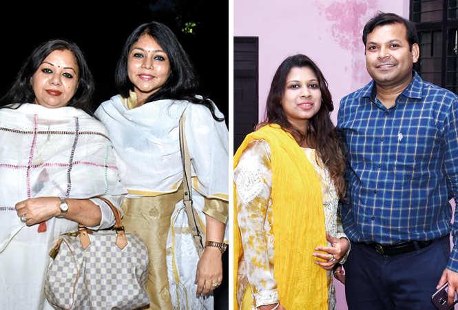 (L-R) Neelika, Sangeeta Jaiswal, Nehi & Sameer Agarwal  (BCCL/ Vishnu Jaiswal)