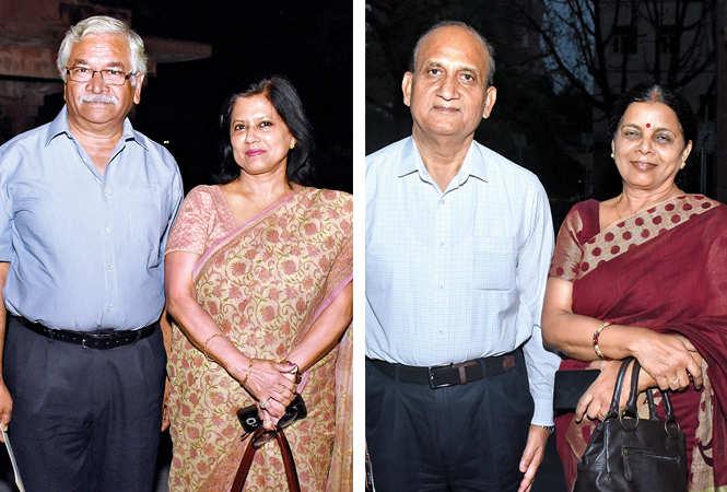 Pradeep Kapoor and Ila Kapoor with RKS Rathore and  Sushma Rathore    (BCCL/ Vishnu Jaiswal)
