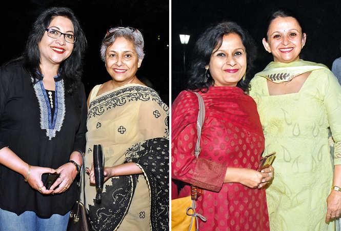 Rakhi Kishore (L) & Geeta Singh, Rachita Vyas (L) & Shamita Joshi   (BCCL/ Vishnu Jaiswal)