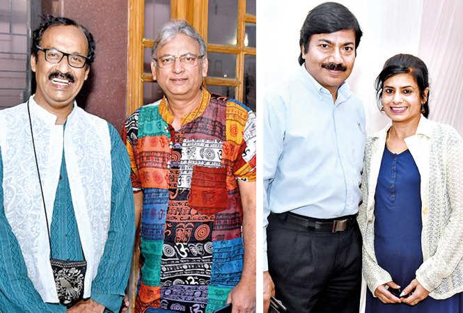 Rakesh Chandra (L) and Ajay Jain and Tarun Raj and Archna   (BCCL/ Vishnu Jaiswal)