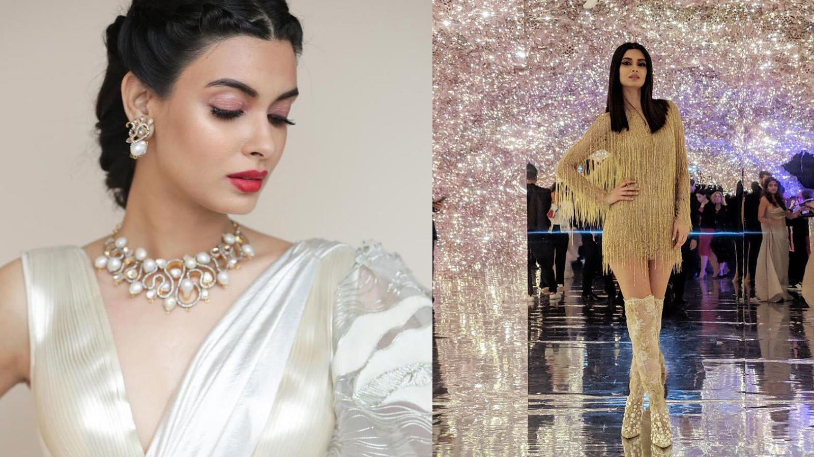 Diana Penty glitters like gold at Cannes 2019