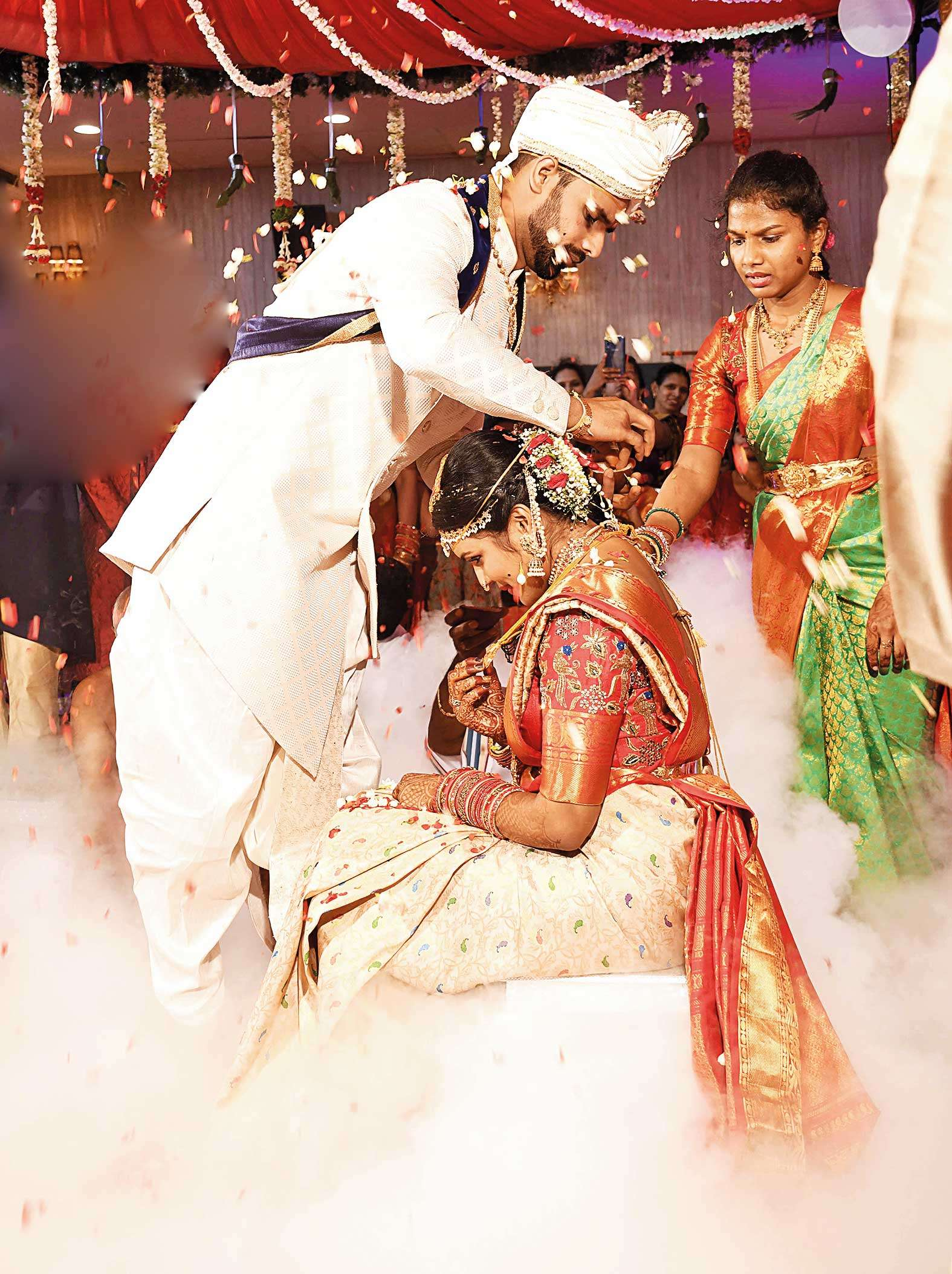 Hanuma Vihari ties the knot with Preetiraj in a ...
