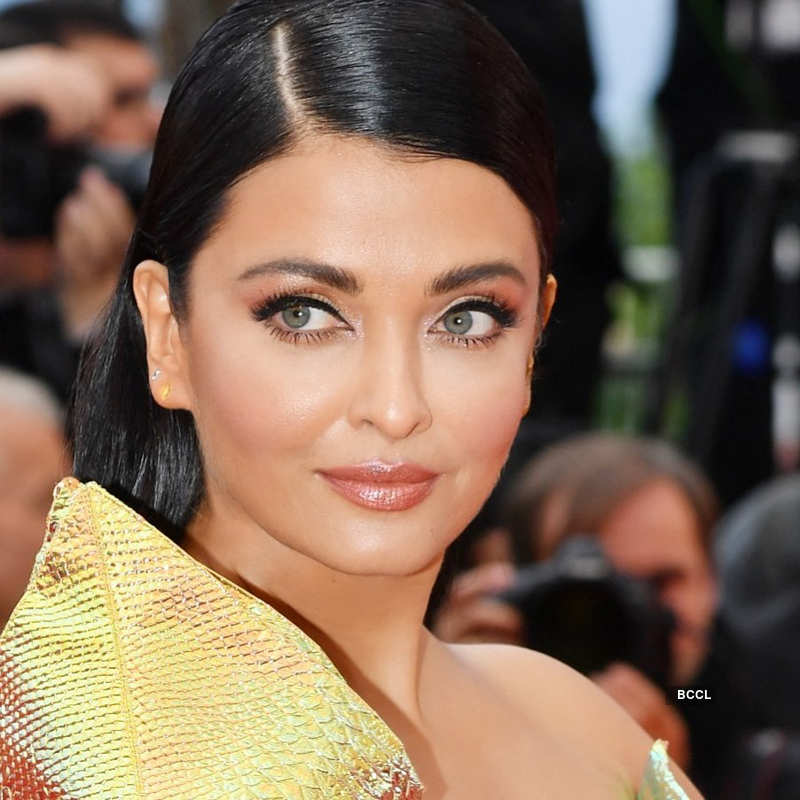 Aishwarya Rai Bachchan looks ethereal in a feathery white gown at Cannes 2019