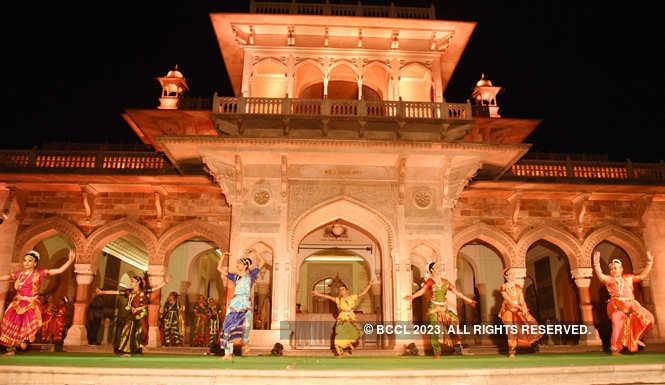 Bharatnatyam performance at Albert Hall Museum in Jaipur