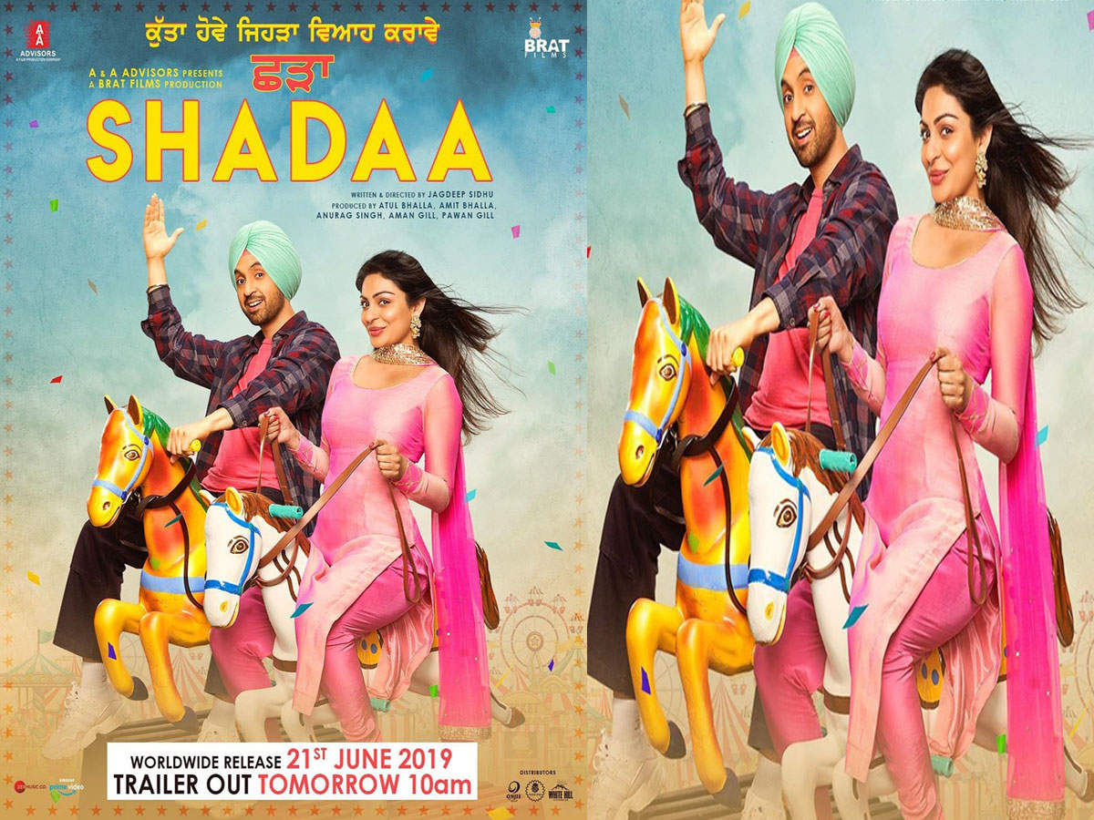 Trailer of Diljit Dosanjh and Neeru Bajwa starrer 'Shadaa' releases