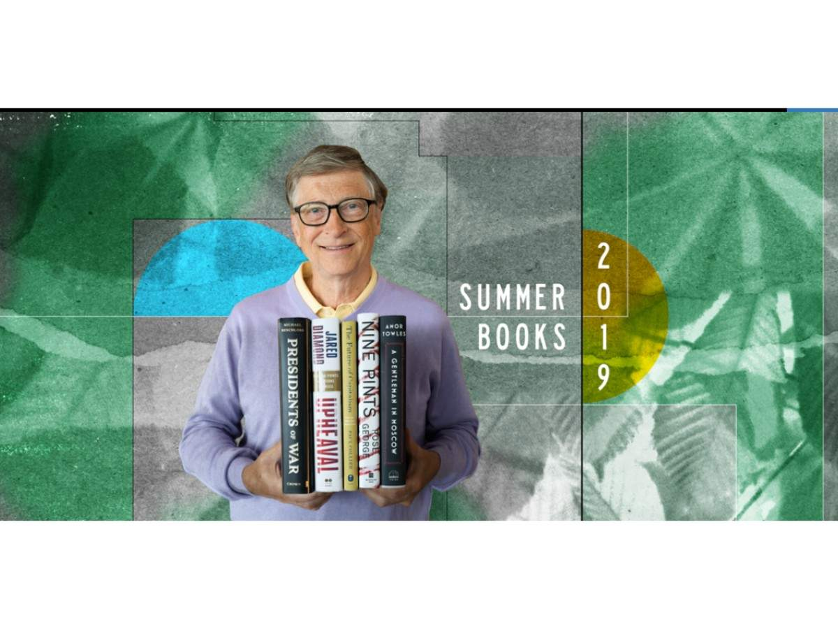 7 books world's second richest man wants you to read this summer