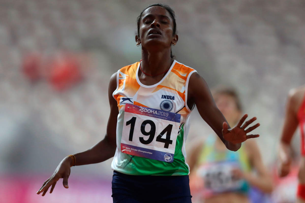 Gomathi Marimuthu may lose the gold medal she won at Asian Athletics championships