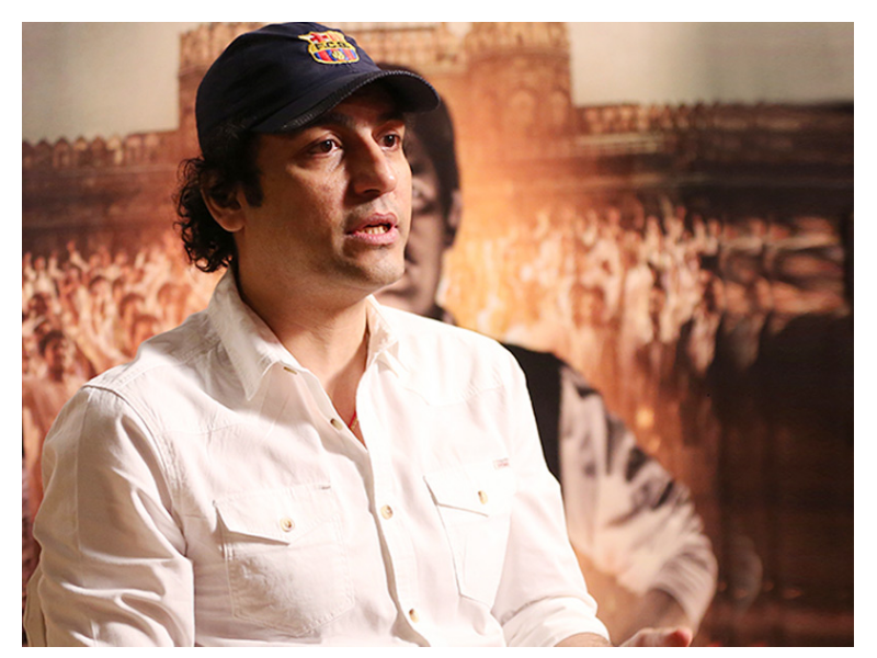 Filmmaker Aazaad in a press conference