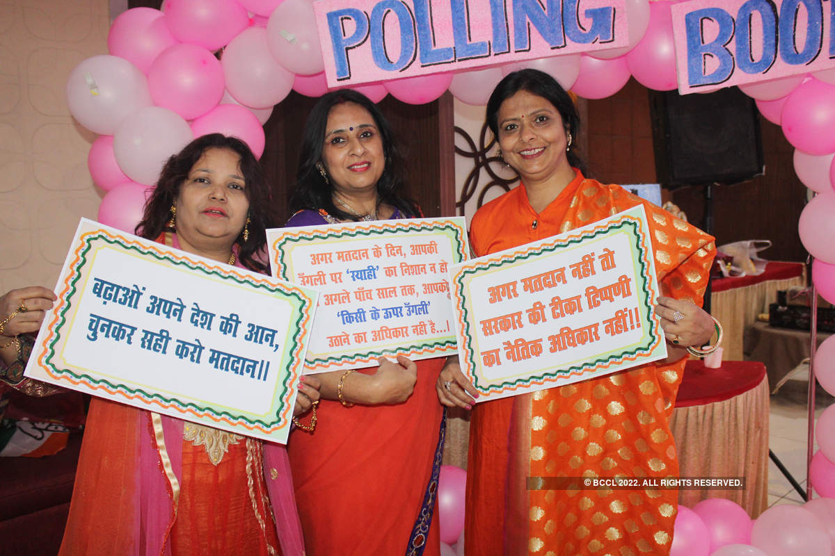 Elections rule the city social scene too
