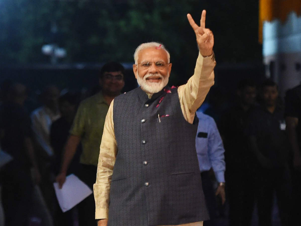 Election Results 2019 Live: Modi set to return to power as BJP sweeps most of India