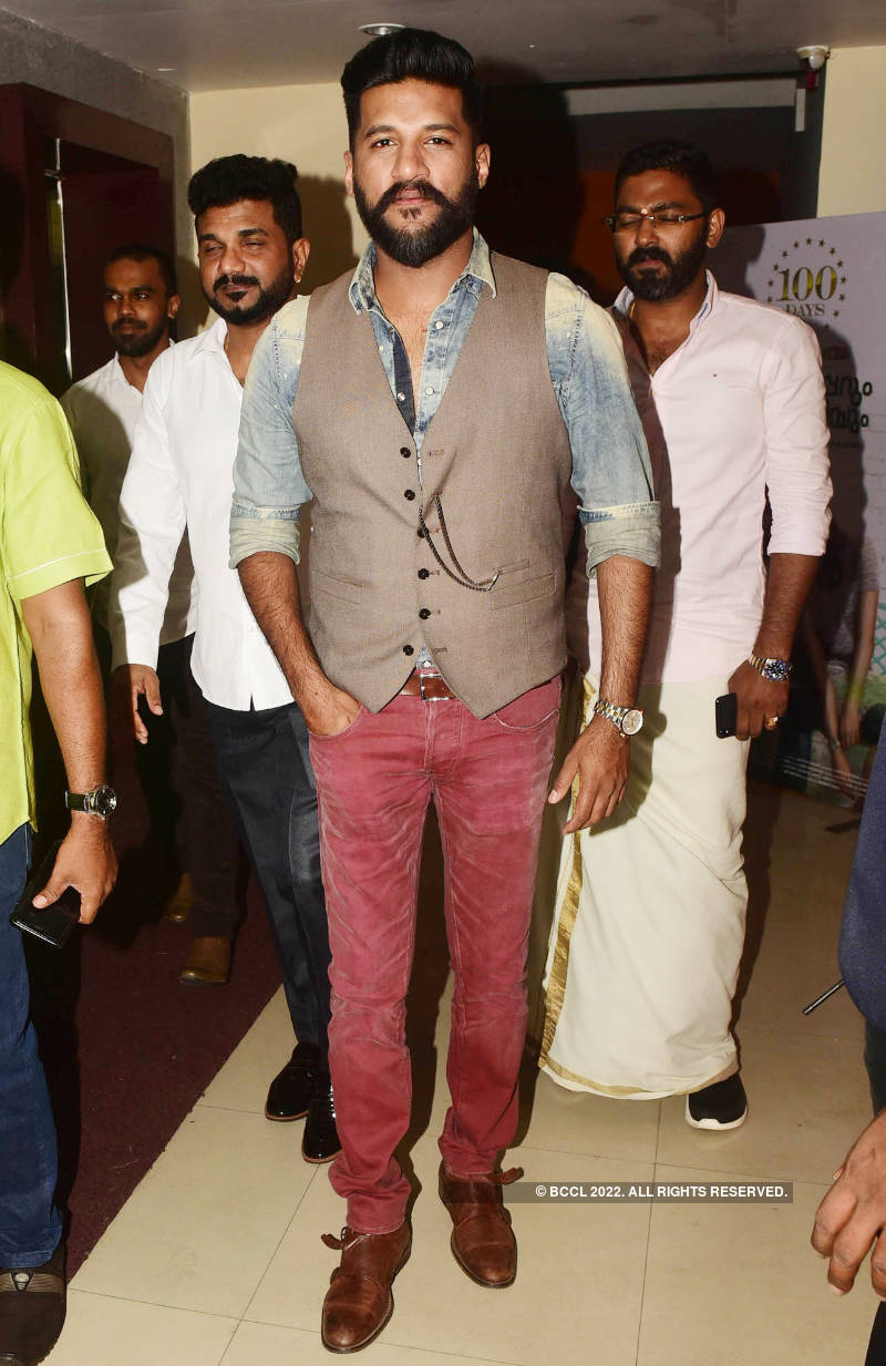 100 days celebration of Asif Ali's film 'Vijay Superum Pournamiyum'