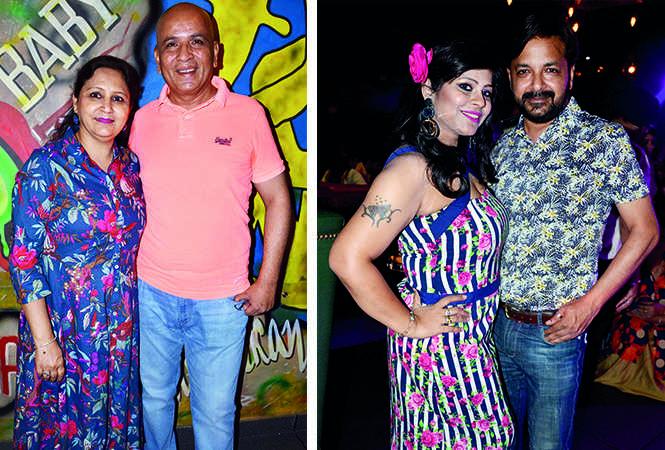 (L) Annu and Sanjay Gupta (R) Kanchan and Nitin Gupta (BCCL/ IB Singh)